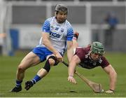 23 February 2020; Fintan Burke of Galway in action against Jamie Barron of Waterford during the Allianz Hurling League Division 1 Group A Round 4 match between Waterford and Galway at Walsh Park in Waterford. Photo by Seb Daly/Sportsfile
