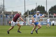 23 February 2020; Stephen Bennett of Waterford in action against Gearoid McInerney of Galway during the Allianz Hurling League Division 1 Group A Round 4 match between Waterford and Galway at Walsh Park in Waterford. Photo by Seb Daly/Sportsfile