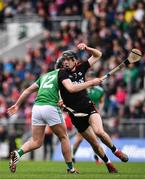 23 February 2020; Robert Downey of Cork in action against Darragh O'Donovan of Limerick during the Allianz Hurling League Division 1 Group A Round 4 match between Cork and Limerick at Páirc Uí Chaoimh in Cork. Photo by Sam Barnes/Sportsfile