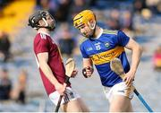 23 February 2020; Jake Morris of Tipperary celebrates after scoring his sides second goal during the Allianz Hurling League Division 1 Group A Round 4 match between Tipperary and Westmeath at Semple Stadium in Thurles, Co Tipperary. Photo by Michael P Ryan/Sportsfile