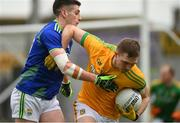 23 February 2020; Conor McGill of Meath in action against Paul Geaney of Kerry during the Allianz Football League Division 1 Round 4 match between Kerry and Meath at Fitzgerald Stadium in Killarney, Kerry. Photo by Diarmuid Greene/Sportsfile