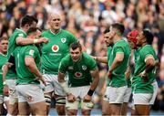 23 February 2020; Ireland players react after conceding a try during the Guinness Six Nations Rugby Championship match between England and Ireland at Twickenham Stadium in London, England. Photo by Brendan Moran/Sportsfile Photo by Brendan Moran/Sportsfile