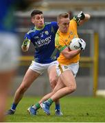 23 February 2020; Ronan Ryan of Meath in action against Paul Geaney of Kerry during the Allianz Football League Division 1 Round 4 match between Kerry and Meath at Fitzgerald Stadium in Killarney, Kerry. Photo by Diarmuid Greene/Sportsfile
