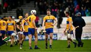 23 February 2020; Clare players Jack Browne, 4, and Tony Kelly after the Allianz Hurling League Division 1 Group B Round 4 match between Kilkenny and Clare at UPMC Nowlan Park in Kilkenny. Photo by Ray McManus/Sportsfile