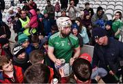 23 February 2020; Cian Lynch of Limerick signs autographs for supporters following the Allianz Hurling League Division 1 Group A Round 4 match between Cork and Limerick at Páirc Uí Chaoimh in Cork. Photo by Sam Barnes/Sportsfile