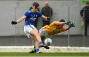 23 February 2020; David Shaw of Kerry in action against Donal Keogan of Meath during the Allianz Football League Division 1 Round 4 match between Kerry and Meath at Fitzgerald Stadium in Killarney, Kerry. Photo by Diarmuid Greene/Sportsfile