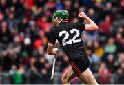 23 February 2020; Aidan Walsh of Cork celebrates after scoring his side's second goal during the Allianz Hurling League Division 1 Group A Round 4 match between Cork and Limerick at Páirc Uí Chaoimh in Cork. Photo by Sam Barnes/Sportsfile