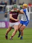 23 February 2020; Fintan Burke of Galway in action against Jack Prendergast of Waterford during the Allianz Hurling League Division 1 Group A Round 4 match between Waterford and Galway at Walsh Park in Waterford. Photo by Seb Daly/Sportsfile