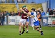 23 February 2020; Brian Concannon of Galway in action against Jamie Barron of Waterford during the Allianz Hurling League Division 1 Group A Round 4 match between Waterford and Galway at Walsh Park in Waterford. Photo by Seb Daly/Sportsfile