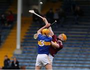 23 February 2020; Niall Mitchel of Westmeath in action against Barry Heffernan of Tipperary during the Allianz Hurling League Division 1 Group A Round 4 match between Tipperary and Westmeath at Semple Stadium in Thurles, Co Tipperary. Photo by Michael P Ryan/Sportsfile