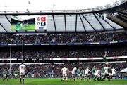 23 February 2020; James Ryan of Ireland wins possession in the lineout during the Guinness Six Nations Rugby Championship match between England and Ireland at Twickenham Stadium in London, England. Photo by Ramsey Cardy/Sportsfile Photo by Ramsey Cardy/Sportsfile