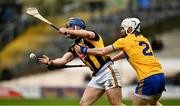 23 February 2020; Ger Aylward of Kilkenny is tackled by Liam Corry of Clare during the Allianz Hurling League Division 1 Group B Round 4 match between Kilkenny and Clare at UPMC Nowlan Park in Kilkenny. Photo by Ray McManus/Sportsfile