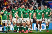 23 February 2020; Ireland players react after conceding their side's third try during the Guinness Six Nations Rugby Championship match between England and Ireland at Twickenham Stadium in London, England. Photo by Brendan Moran/Sportsfile Photo by Brendan Moran/Sportsfile
