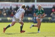 23 February 2020; Eimear Considine of Ireland in action during the Women's Six Nations Rugby Championship match between England and Ireland at Castle Park in Doncaster, England.  Photo by Simon Bellis/Sportsfile