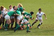 23 February 2020; Ciara Griffin of Ireland in action during the Women's Six Nations Rugby Championship match between England and Ireland at Castle Park in Doncaster, England.  Photo by Simon Bellis/Sportsfile