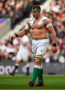 23 February 2020; CJ Stander of Ireland without is jersey during the Guinness Six Nations Rugby Championship match between England and Ireland at Twickenham Stadium in London, England. Photo by Brendan Moran/Sportsfile