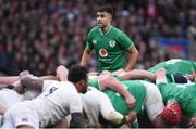 23 February 2020; Conor Murray of Ireland during the Guinness Six Nations Rugby Championship match between England and Ireland at Twickenham Stadium in London, England. Photo by Ramsey Cardy/Sportsfile