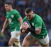 23 February 2020; Andrew Porter of Ireland during the Guinness Six Nations Rugby Championship match between England and Ireland at Twickenham Stadium in London, England. Photo by Ramsey Cardy/Sportsfile