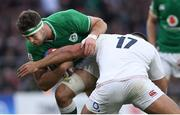 23 February 2020; Caelan Doris of Ireland in action against Ellis Genge of England during the Guinness Six Nations Rugby Championship match between England and Ireland at Twickenham Stadium in London, England. Photo by Ramsey Cardy/Sportsfile