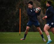 24 February 2020; Joe Tomane during Leinster Rugby Squad Training at Leinster Rugby Headquarters at Rosemount in UCD, Dublin. Photo by Sam Barnes/Sportsfile