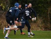 24 February 2020; Barry Daly during Leinster Rugby Squad Training at Leinster Rugby Headquarters at Rosemount in UCD, Dublin. Photo by Sam Barnes/Sportsfile
