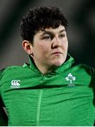 21 February 2020; Tom Stewart of Ireland prior to the Six Nations U20 Rugby Championship match between England and Ireland at Franklin's Gardens in Northampton, England. Photo by Brendan Moran/Sportsfile