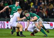 21 February 2020; Joe McCarthy of Ireland is tackled by Will Haydon-Wood of England during the Six Nations U20 Rugby Championship match between England and Ireland at Franklin's Gardens in Northampton, England. Photo by Brendan Moran/Sportsfile