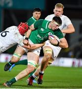 21 February 2020; Thomas Ahern of Ireland during the Six Nations U20 Rugby Championship match between England and Ireland at Franklin's Gardens in Northampton, England. Photo by Brendan Moran/Sportsfile