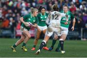 23 February 2020; Cliodhna Moloney of Ireland in action during the Women's Six Nations Rugby Championship match between England and Ireland at Castle Park in Doncaster, England. Photo by Simon Bellis/Sportsfile