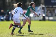 23 February 2020; Claire Keohane of Ireland in action during the Women's Six Nations Rugby Championship match between England and Ireland at Castle Park in Doncaster, England. Photo by Simon Bellis/Sportsfile