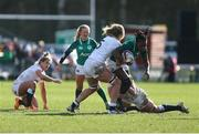23 February 2020; Linda Djougang of Ireland in action during the Women's Six Nations Rugby Championship match between England and Ireland at Castle Park in Doncaster, England. Photo by Simon Bellis/Sportsfile