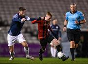 24 February 2020; Glen McAuley of Bohemians is tackled by Kyle Callan-McFadden of Sligo Rovers during the SSE Airtricity League Premier Division match between Bohemians and Sligo Rovers at Dalymount Park in Dublin. Photo by Eóin Noonan/Sportsfile