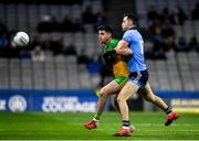 22 February 2020; Daire Ó Baoill of Donegal in action against Dean Rock of Dublin during the Allianz Football League Division 1 Round 4 match between Dublin and Donegal at Croke Park in Dublin. Photo by Sam Barnes/Sportsfile