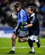 22 February 2020; Action from the cumman Na mbunscoil games at half time during the Allianz Football League Division 1 Round 4 match between Dublin and Donegal at Croke Park in Dublin. Photo by Sam Barnes/Sportsfile