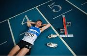 25 February 2020; Marcus Lawler of St. L. O'Toole AC, Carlow, during the Irish Life Health National Senior Indoor Championships Launch 2020 at National Indoor Arena on the Sport Ireland National Sports Campus in Abbotstown, Dublin. Photo by David Fitzgerald/Sportsfile