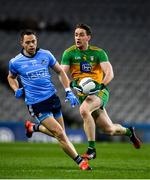 22 February 2020; Hugh McFadden of Donegal in action against Dean Rock of Dublin during the Allianz Football League Division 1 Round 4 match between Dublin and Donegal at Croke Park in Dublin. Photo by Sam Barnes/Sportsfile