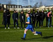 23 February 2020; Players from Enfield Celtic perform drills during the FAI Football Fitness Conference 2020 at Johnstown House in Enfield, Co Meath. Photo by Stephen McCarthy/Sportsfile