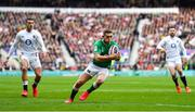 23 February 2020; Jordan Larmour of Ireland during the Guinness Six Nations Rugby Championship match between England and Ireland at Twickenham Stadium in London, England. Photo by Brendan Moran/Sportsfile