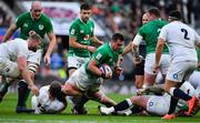 23 February 2020; CJ Stander of Ireland attempts to get through the England defence during the Guinness Six Nations Rugby Championship match between England and Ireland at Twickenham Stadium in London, England. Photo by Brendan Moran/Sportsfile