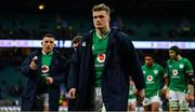 23 February 2020; Josh van der Flier of Ireland leaves the pitch after the Guinness Six Nations Rugby Championship match between England and Ireland at Twickenham Stadium in London, England. Photo by Brendan Moran/Sportsfile