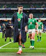 23 February 2020; Conor Murray of Ireland leaves the pitch after the Guinness Six Nations Rugby Championship match between England and Ireland at Twickenham Stadium in London, England. Photo by Brendan Moran/Sportsfile