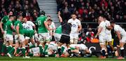 23 February 2020; Referee Jaco Peyper signals a try for Ireland scored by Andrew Porter during the Guinness Six Nations Rugby Championship match between England and Ireland at Twickenham Stadium in London, England. Photo by Brendan Moran/Sportsfile