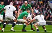 23 February 2020; CJ Stander of Ireland in action against Sam Underhill of England during the Guinness Six Nations Rugby Championship match between England and Ireland at Twickenham Stadium in London, England. Photo by Brendan Moran/Sportsfile