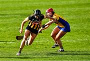 23 February 2020; Aoife Doyle of Kilkenny is tackled by Alannah Ryan of Clare during the Littlewoods Ireland Camogie League Division 1 match between Kilkenny and Clare at UPMC Nowlan Park in Kilkenny. Photo by Ray McManus/Sportsfile