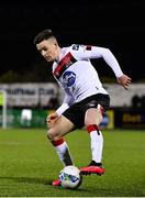 24 February 2020; Darragh Leahy of Dundalk during the SSE Airtricity League Premier Division match between Dundalk and Cork City at Oriel Park in Dundalk, Louth. Photo by Seb Daly/Sportsfile