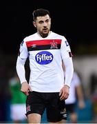 24 February 2020; Jordan Flores of Dundalk during the SSE Airtricity League Premier Division match between Dundalk and Cork City at Oriel Park in Dundalk, Louth. Photo by Seb Daly/Sportsfile
