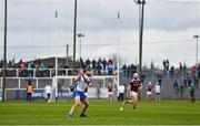 23 February 2020; Pauric Mahony of Waterford scores a point during the Allianz Hurling League Division 1 Group A Round 4 match between Waterford and Galway at Walsh Park in Waterford. Photo by Seb Daly/Sportsfile