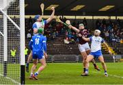 23 February 2020; Austin Gleeson of Waterford catches the sliotar under pressure from Niall Burke of Galway during the Allianz Hurling League Division 1 Group A Round 4 match between Waterford and Galway at Walsh Park in Waterford. Photo by Seb Daly/Sportsfile