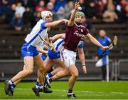 23 February 2020; Adrian Touhey of Galway in action against Jack Fagan of Waterford during the Allianz Hurling League Division 1 Group A Round 4 match between Waterford and Galway at Walsh Park in Waterford. Photo by Seb Daly/Sportsfile