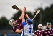 23 February 2020; Jason Flynn of Galway in action against Conor Prunty of Waterford during the Allianz Hurling League Division 1 Group A Round 4 match between Waterford and Galway at Walsh Park in Waterford. Photo by Seb Daly/Sportsfile